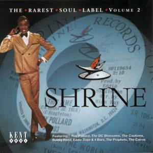 Shrine - The Rarest Soul Label Volume 2 - Various Artists CD (Kent)