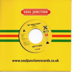 "Betty Boo - My Man Flint / My Man Flint (Instrumental) 7"""