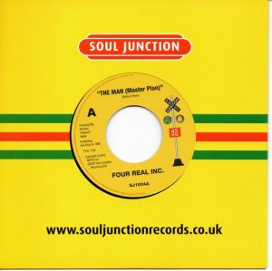 Four Real Inc - The Man (Master Plan) / Larry Wright - It's Okay With Me 45 (Soul Junction) 7' Vinyl