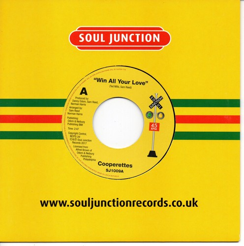 """Win All Your Love / Win All Your Love (Previously Unissued Version) 7""""-0"""