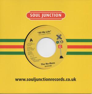 "Nu-Rons - All My Life / Disco Hustle 45 (Soul Junction) 7"" Vinyl"
