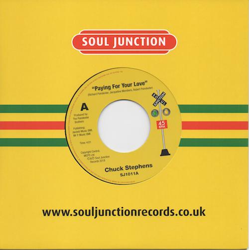 "Chuck Stephens - Praying For Your Love / Let's Get Nasty 45 (Soul Junction) 7"" Vinyl"