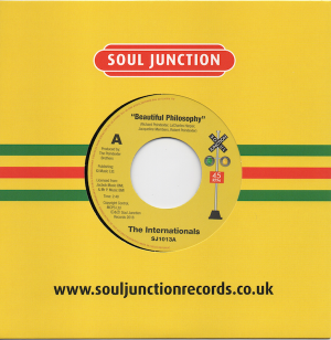 "The Internationals - Beautiful Philosophy / Too Sweet To Be Lonely 45 (Soul Junction) 7"" Vinyl"