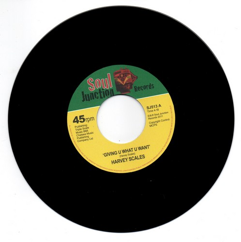 """Giving U What U Want / I'd Be A Fool (To Fool Around) 7""""-0"""