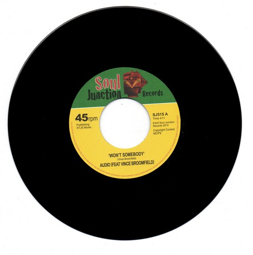 Audio Feat Vince Broomfield - Won't Somebody / The Answers No 45