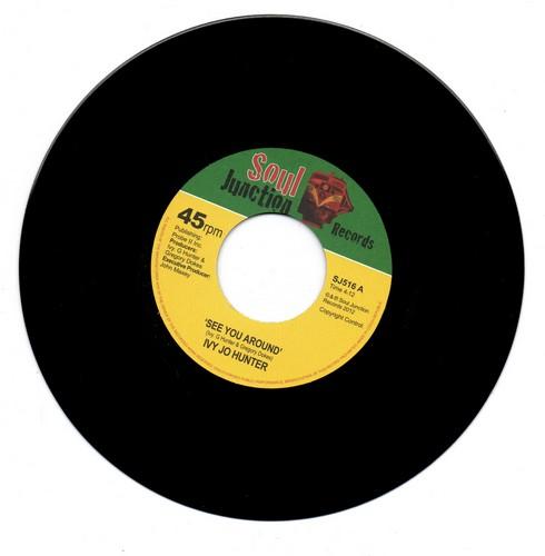 """Ivy Jo Hunter - See You Around / Yea Yea Yea 45 (Soul Junction) 7"""" Vinyl"""