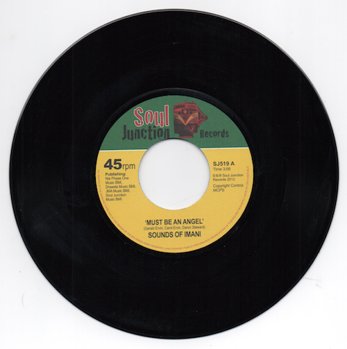 """Sounds Of Imani - Must Be An Angel / It's Alright 45 (Soul Junction) 7"""" Vinyl"""