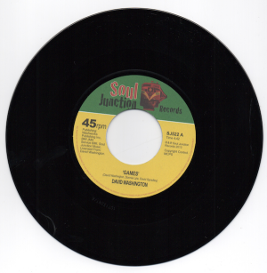 "David Washington - Games / Ready For Your Love 45 (Soul Junction) 7"" Vinyl"