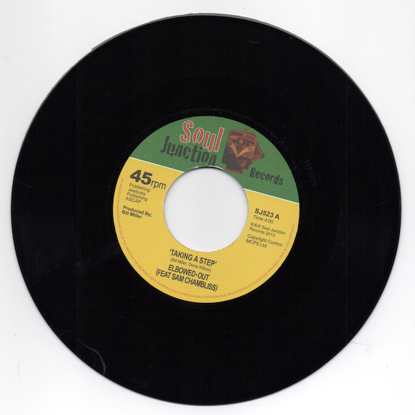 "Elbowed-Out Feat Sam Chambliss - Taking A Step / Girl You Got Magic 45 (Soul Junction) 7"" Vinyl"
