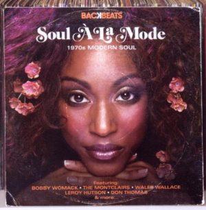 Soul A La Mode 1970s Modern Soul CD