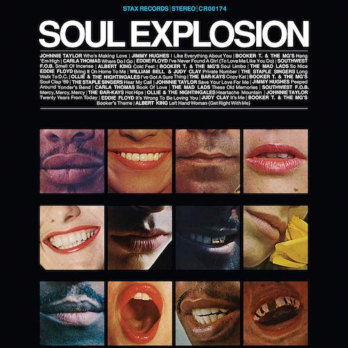 Soul Explosion - 50th Anniversary Stax Records Defining Hits Collection 2x LP Vinyl Gatefold Sleeve