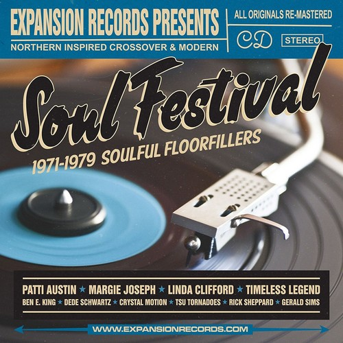 Soul Festival - Northern Inspired Crossover & Modern - Various Artists CD (Expansion)