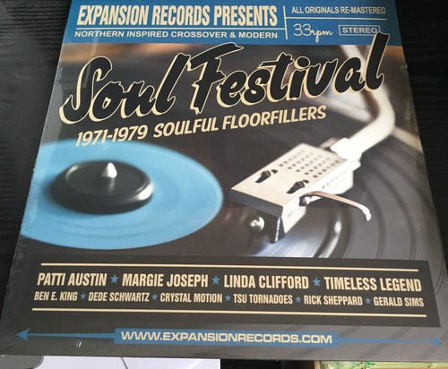 Soul Festival - Northern Inspired Crossover & Modern - Various Artists LP Vinyl (Expansion)