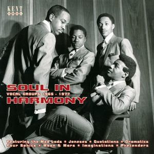 Soul In Harmony - Vocal Groups 1965-1977 CD