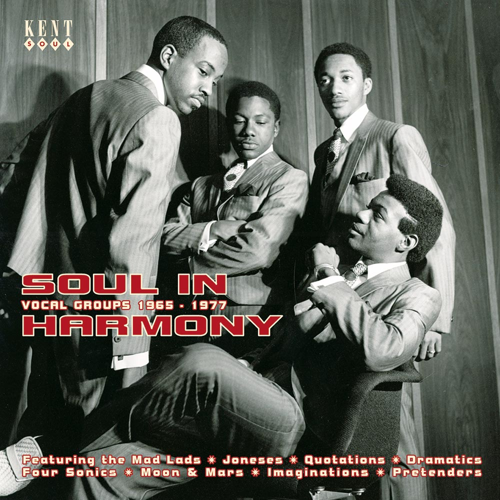 Soul In Harmony – Vocal Groups 1965-1977 CD
