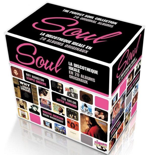 SOUL LA DISCOTHEQUE Various Artists 20x CD BOX SET-0