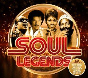 Soul Legends - 60 Classic Hits 3x CD