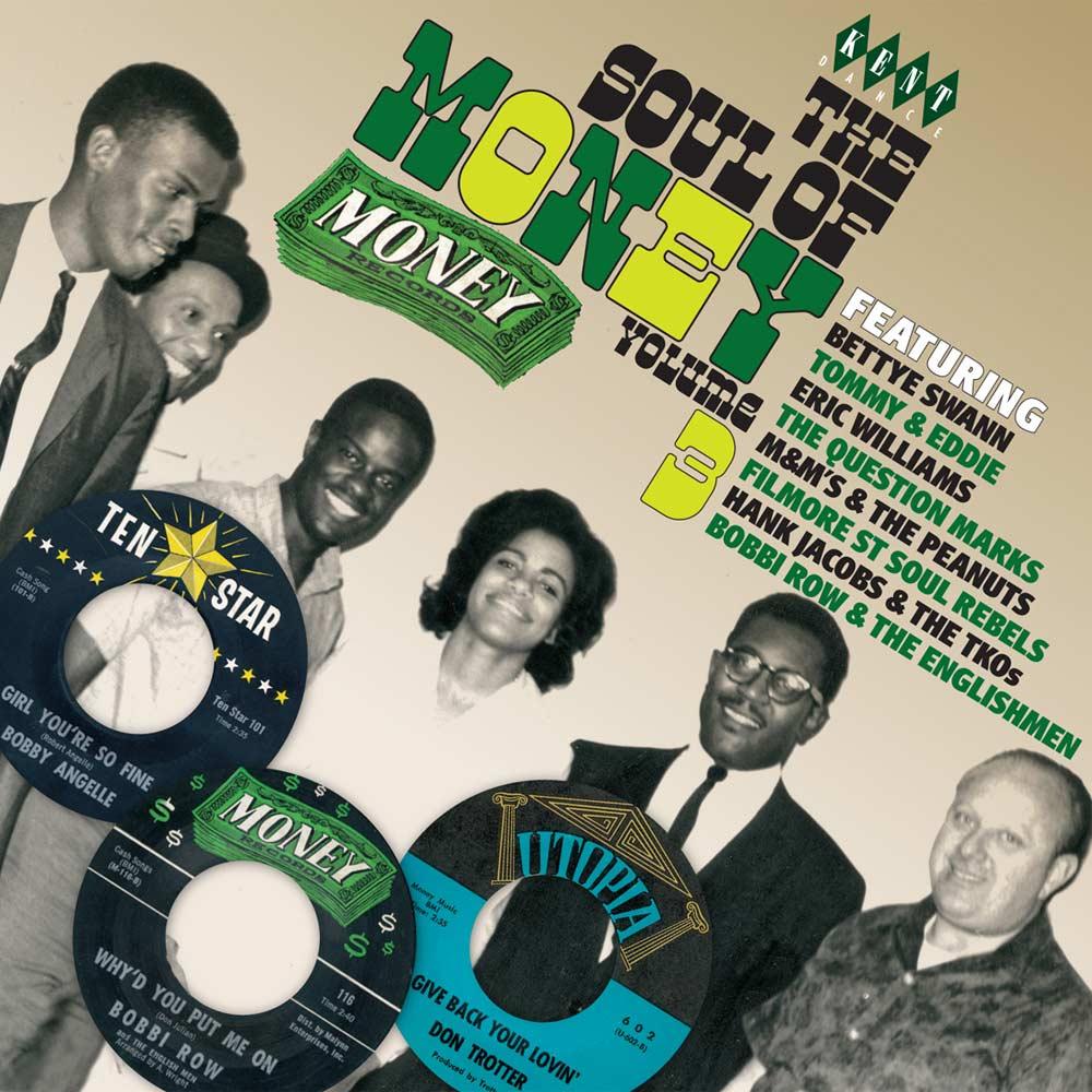 Soul Of Money Records Volume 3 – Various Artists CD (Kent)