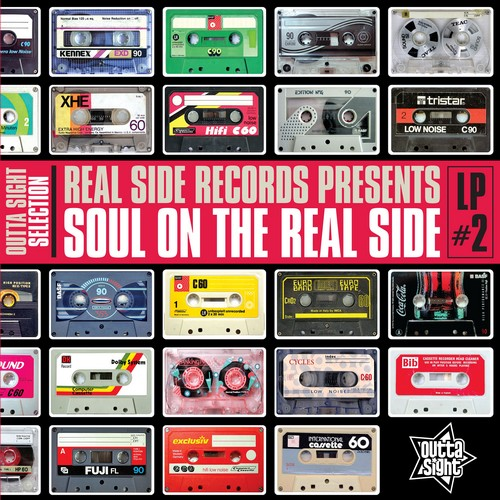 Soul On The Real Side Volume 2 - Various Artists LP Vinyl (Outta Sight)