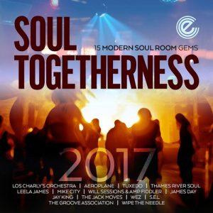 Soul Togetherness 2017 15 Modern Soul Room Gems CD (Expansion)