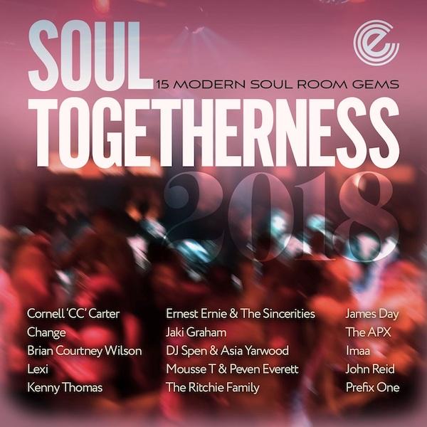 Soul Togetherness 2018 15 Modern Soul Room Gems - Various Artists 2x LP Vinyl (Expansion)