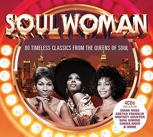 Soul Woman - 80 Timeless Classics From The Queens Of Soul 4X CD (Universal)