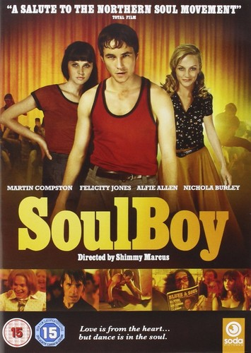 Soulboy - Starring Martin Compston, Felicity Jones, and Alfie Allen DVD-0