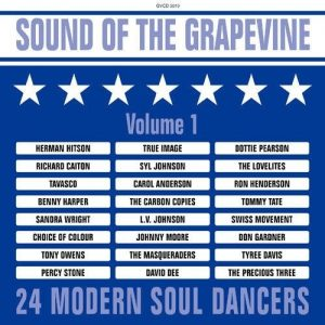Sound Of The Grapevine Volume 1 - 24 Modern Soul Dancers CD (Grapevine)