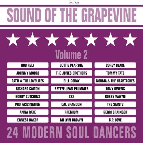 Sound Of The Grapevine Volume 2 24 Modern Soul Dancers CD