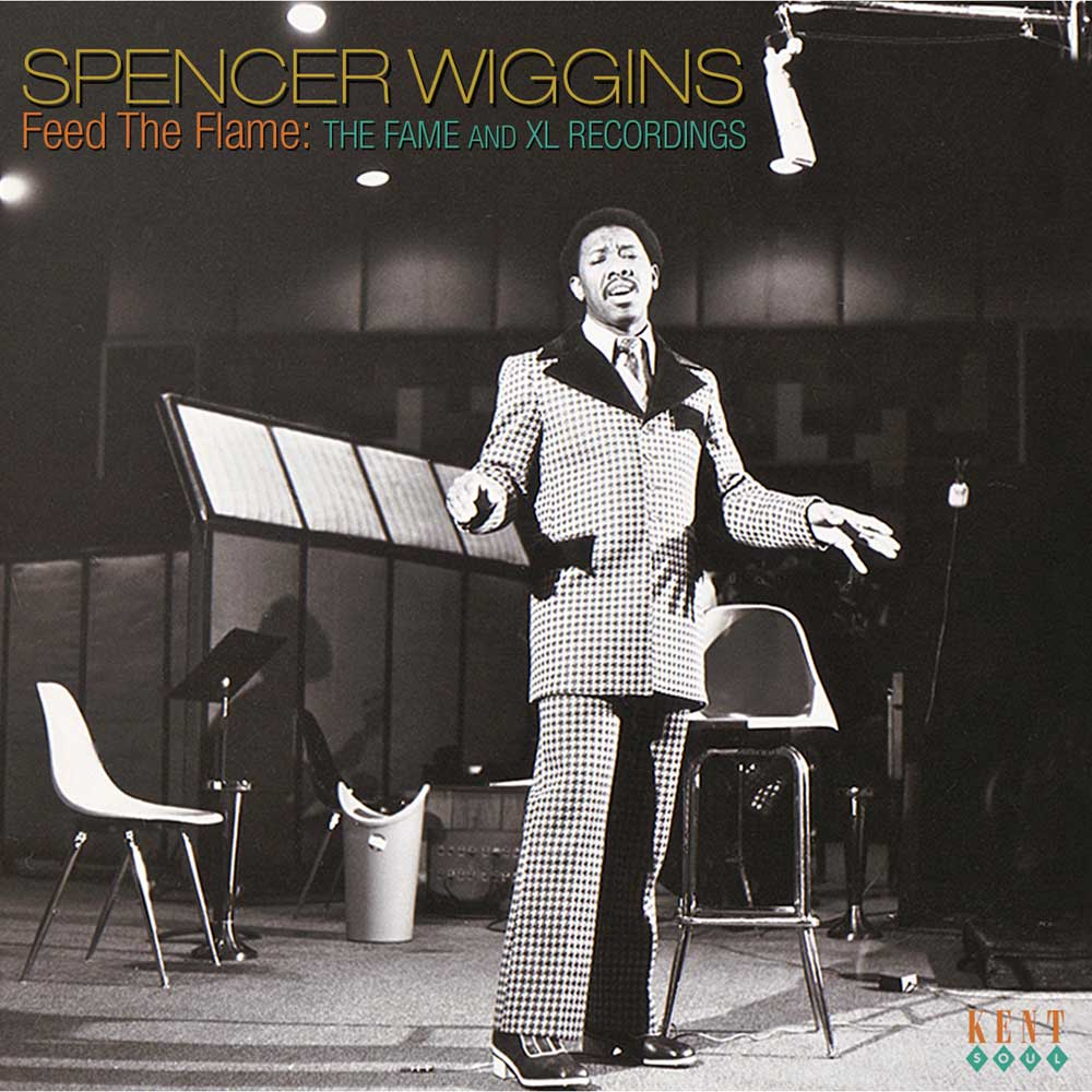 Spencer Wiggins – Feed The Flame – The Fame And XL Recordings CD