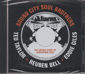 Sound City Soul Brothers Feat Ted Taylor, Reuben Bell & Eddie Giles CD (Soulscape)