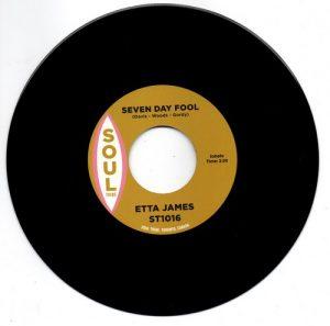 "Etta James - Seven Day Fool / Doug Banks - I Just Kept On Dancing 45 (Soul Tribe) 7"" Vinyl"