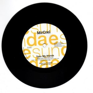 "Take My Hands (Nigel Lowis Radio Edit) / Take My Hands (T-Groove Single Edit) 7""-0"