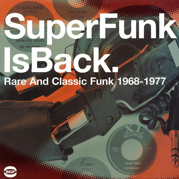 Super Funk Is Back Volume 5 Rare And Classic Funk 1966-1971 - Various Artists 2X LP Vinyl (BGP)