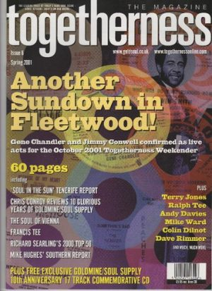 Togetherness Issue 6 Spring 2001 Magazine With Free CD-0