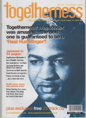 Togetherness Issue 7 Autumn 2001 Magazine With Free CD-0