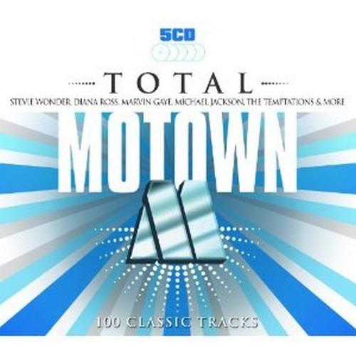 Total Motown 100 Classic Tracks 5X CD SET