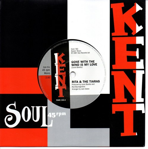 """Gone With The Wind Is My Love / (Instrumental) 7""""-0"""