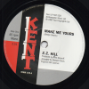 ZZ Hill - Make Me Yours / Peggy Woods - Love Is Gonna Get You 45