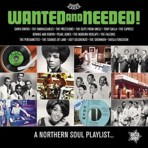 Wanted And Needed! - A Northern Soul Playlist - Various Artists LP Vinyl (Outta Sight)