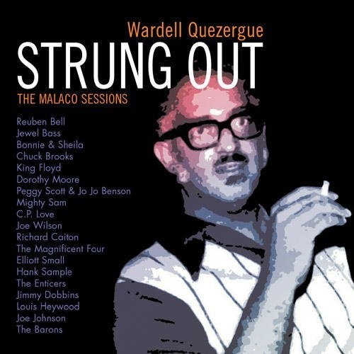 Wardell Quezergue Strung Out - The Malaco Sessions CD (Grapevine)