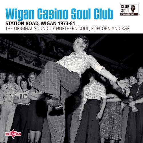 Wigan Casino Soul Club 1973-81 - Various Artists CD (Charly / Club Soul)