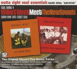 Soul Twins 4 - Willie & West Meet The New Sounds CD