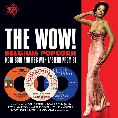 The Wow! Belgium Popcorn - Various Artists CD (Outta Sight)