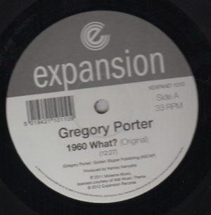 """Gregory Porter - 1960 What? (Original Mix) / (Opolopo Kick & Bass Rerub) 12"""""""