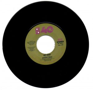 """Anthony White - Hey Baby / Stop And Think It Over 7"""""""